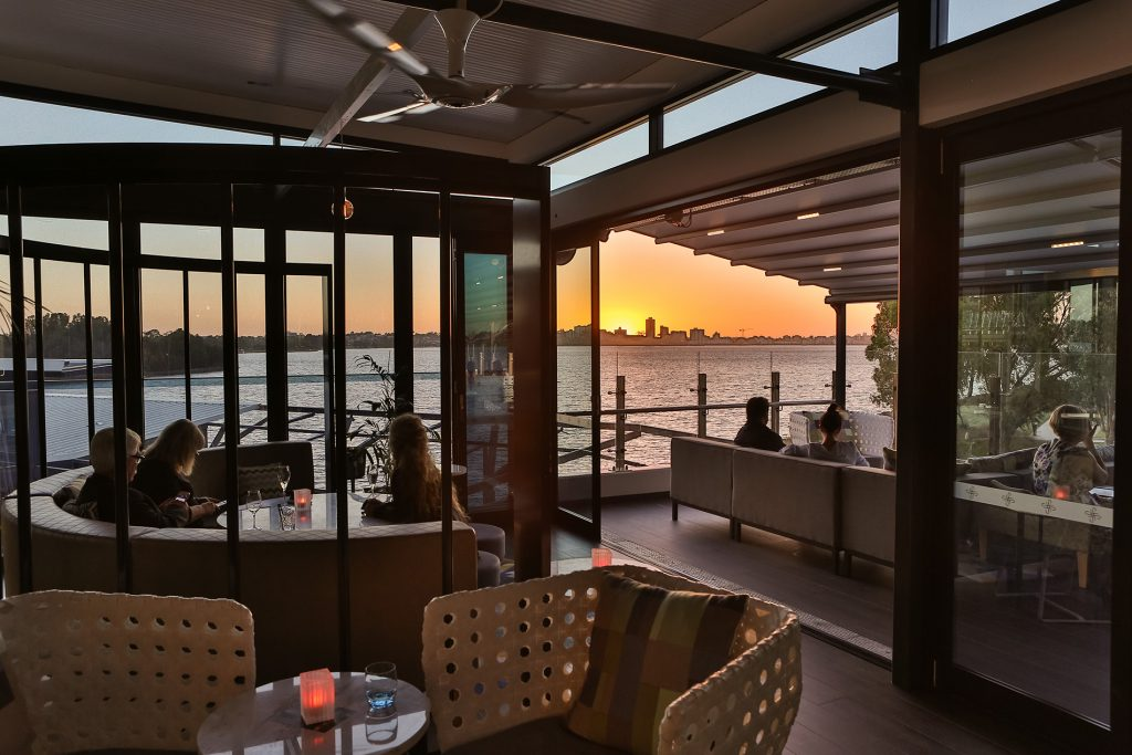Terrace Lounge sunset view