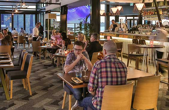 THE POINT PERTH RESTAURANT
